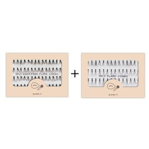 BLEND IT Tufts of Eyelashes Combo Flares 56 pcs
