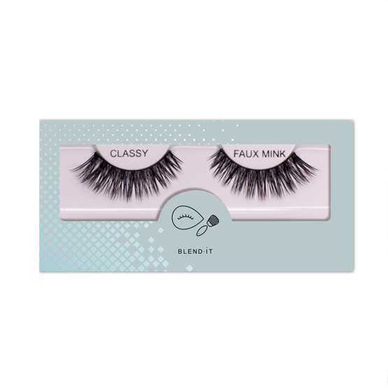 BLEND IT False Eyelashes CLASSY FAUX MINK