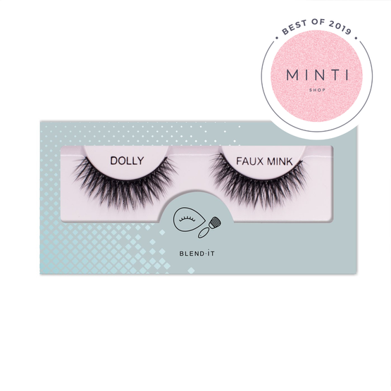 BLEND IT False Eyelashes DOLLY FAUX MINK